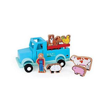 jack rabbit magnetic farm truck toy