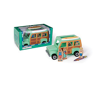 jack rabbit creations surfer magnetic truck toy