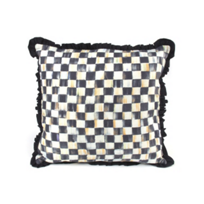 MacKenzie_Childs_Courtly_Check_Ruffled_Square_Pillow