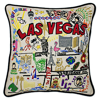 Catstudio Las Vegas Pillow