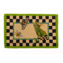 MacKenzie-Childs_Frog_Entrance_Mat