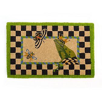 MacKenzie-Childs Frog Entrance Mat
