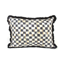 MacKenzie_Childs_Courtly_Check_Ruffled_Lumbar_Pillow