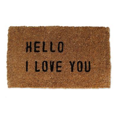Sugarboo Hello I Love You Doormat