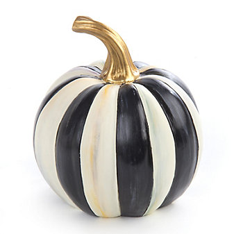 MacKenzie-Childs Courtly Stripe Pumpkin - Mini