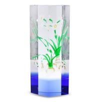 lustig_optical_crystal_flower_tower,_blue