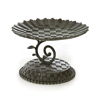 Mackenzie-Childs Sunflower Bird Bath