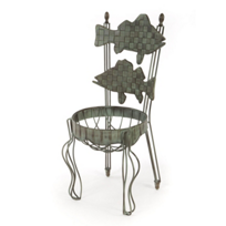 Mackenzie-Childs_Fish_Chair_Planter
