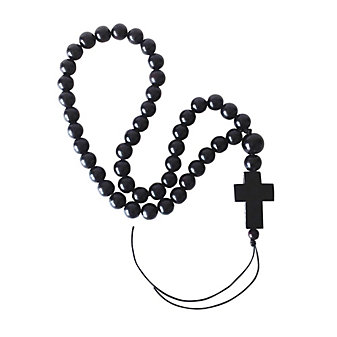 Jan Barboglio Ebony Blessing Beads