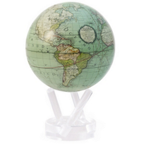 "Mova_Cassini_Terrestrial_Green_Globe,_4.5"""