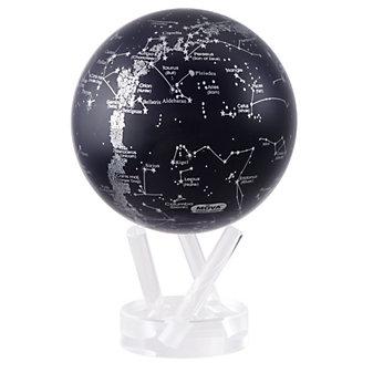 Moval Silver Constellation Black Globe