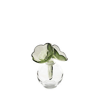 Lalique 2 Anemones Perfume Bottle
