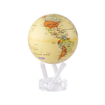"mova antique 4.5"" globe"