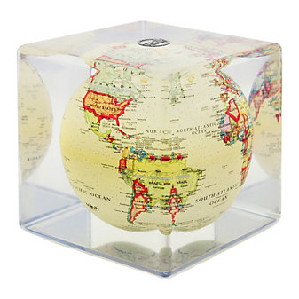 "mova antique beige 5"" cube"