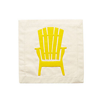 Nora Fleming Chillin' Chair Panel Pillow Cover