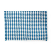 MacKenzie-Childs_Oxford_Blue_Houndstooth_Scatter_Rug_-_2'_x_3'