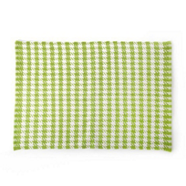 MacKenzie-Childs_Chartreuse_Houndstooth_Scatter_Rug_2'_x_3'