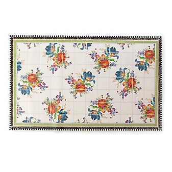 MacKenzie-Childs Flower Market Floor Mat - 3' x 5'