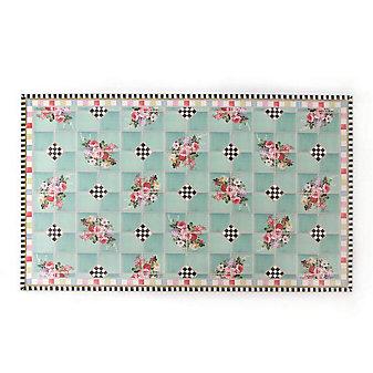 MacKenzie-Childs Chelsea Garden Floor Mat - 3' x 5'