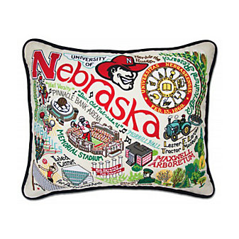 Catstudio University of Nebraska Pillow