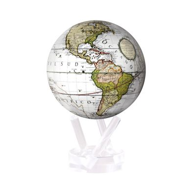 mova cassini terrestrial white globe
