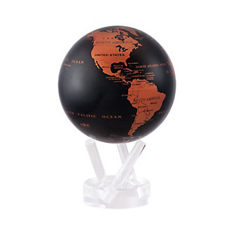 "mova copper and black 4.5"" globe"