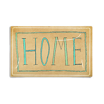 BEN'SGARDEN HOME HANDWRITING 5X8 TRAY