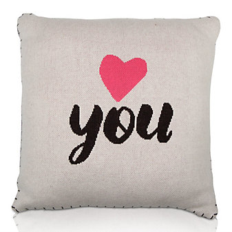 "Love You Pillow, 18"" X 18"""