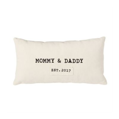 MUD PIE PARENTS PILLOW