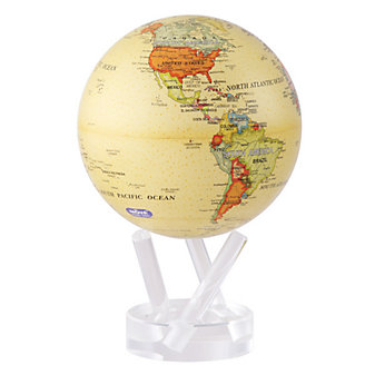 "mova antique beige 6"" globe"