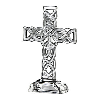 galway crystal celtic cross