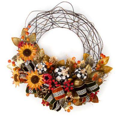 mackenzie-childs autumn vine wreath
