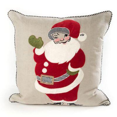 mackenzie-childs santa pillow