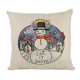 sticks friendly frosty pillow