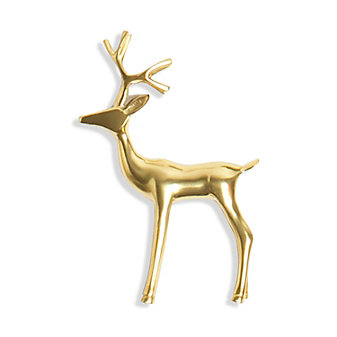 8 Oak Lane Large Reindeer Figurine
