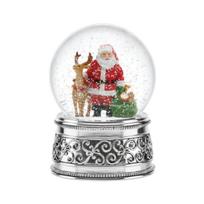 Reed_and_Barton_Santa_&_Reindeer_Small_Snowglobe