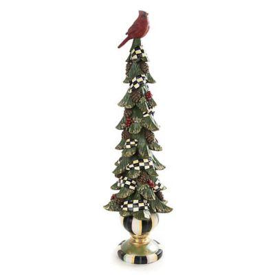 mackenzie-childs christmas cardinal tree, tall