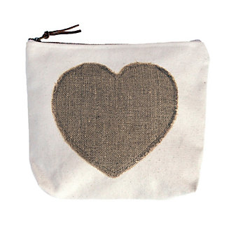 Sugarboo Designs Heart Patch Canvas Bag