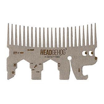 Zootility Headgehog Tool, Silver