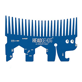 Zootility Headgehog Tool, Blue