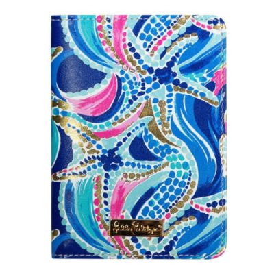 Lilly Pulitzer Passport Cover - Lover's Coral