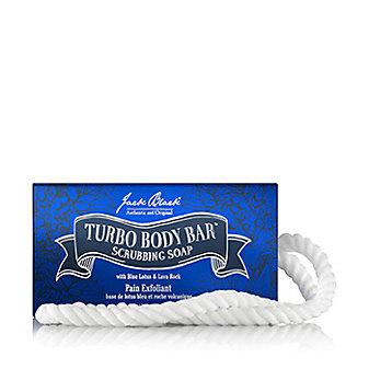 Jack Black Turbo Body Bar Scrubbing Soap on a Rope