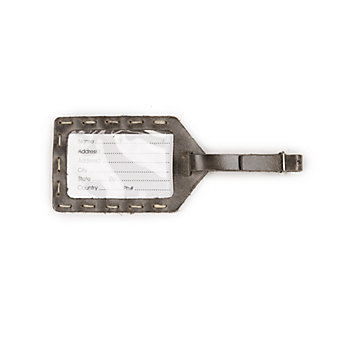 RUSTICO LUGGAGE TAG - CHARCOAL