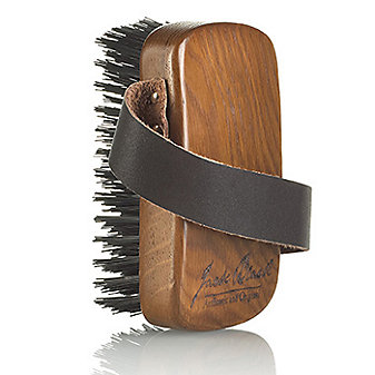 Jack Black Hand Held Brush with Strap and Logo