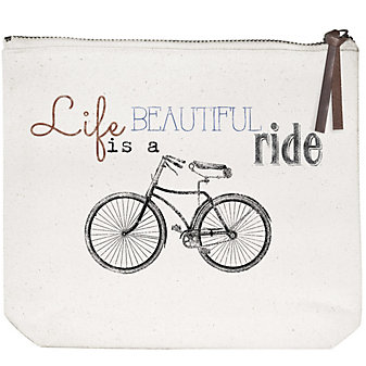 mary lake-thompson beautiful ride canvas pouch
