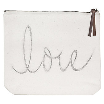 mary lake-thompson love canvas pouch