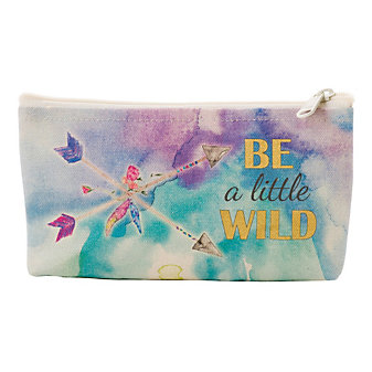GRATITUDE BE A LITTLE WILD POUCH