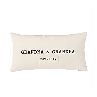 MUD PIE GRANDPARENTS PILLOW