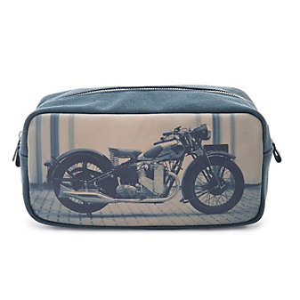 Cateseye London Motorcycle Large Dopp Kit