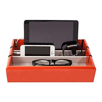 oyo tech tray in orange